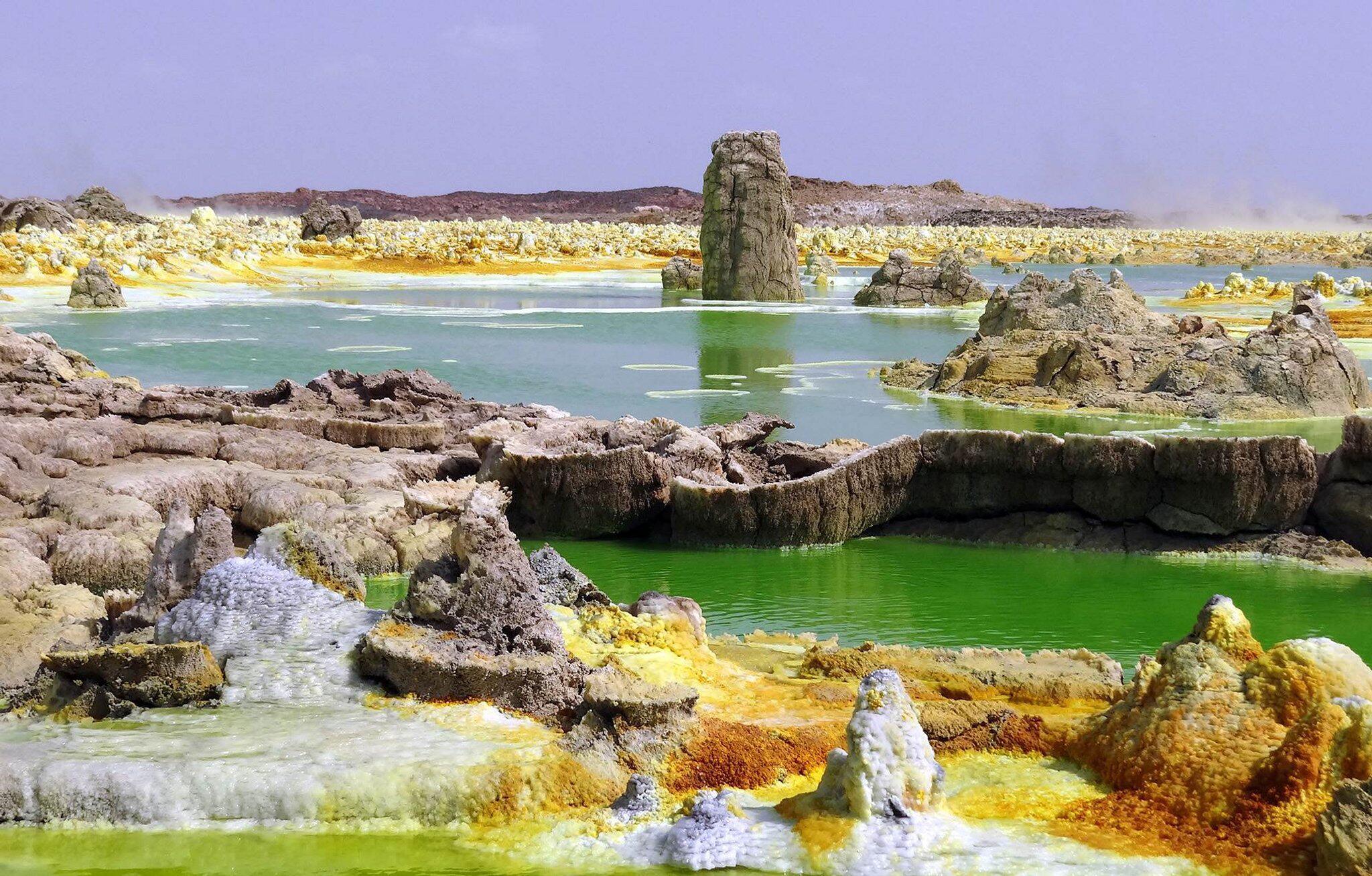 Bild zu Dossier: Wasser, aber kein Leben: Forscher finden sterilen Ort