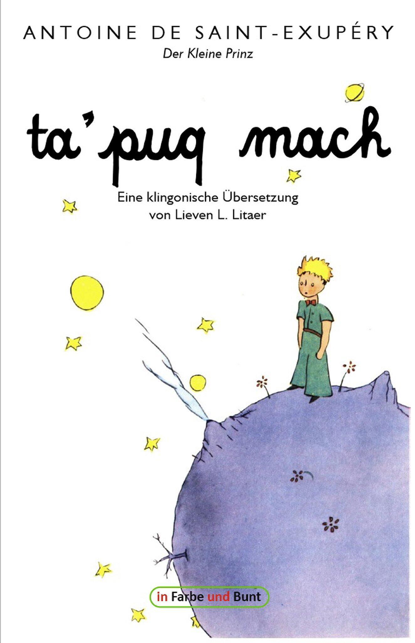 Bild zu «Kleiner Prinz» ins Klingonische übersetzt