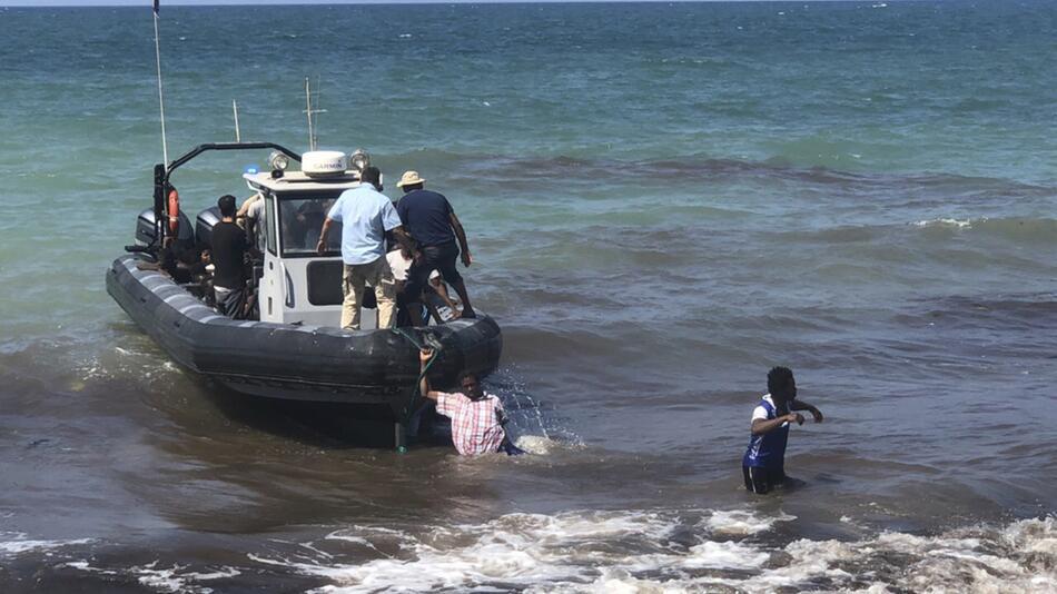 Libyen, Küstenwache