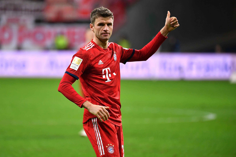 Bild zu Thomas, Müller, FCB, Bayern, München, Bundesliga, Fußball