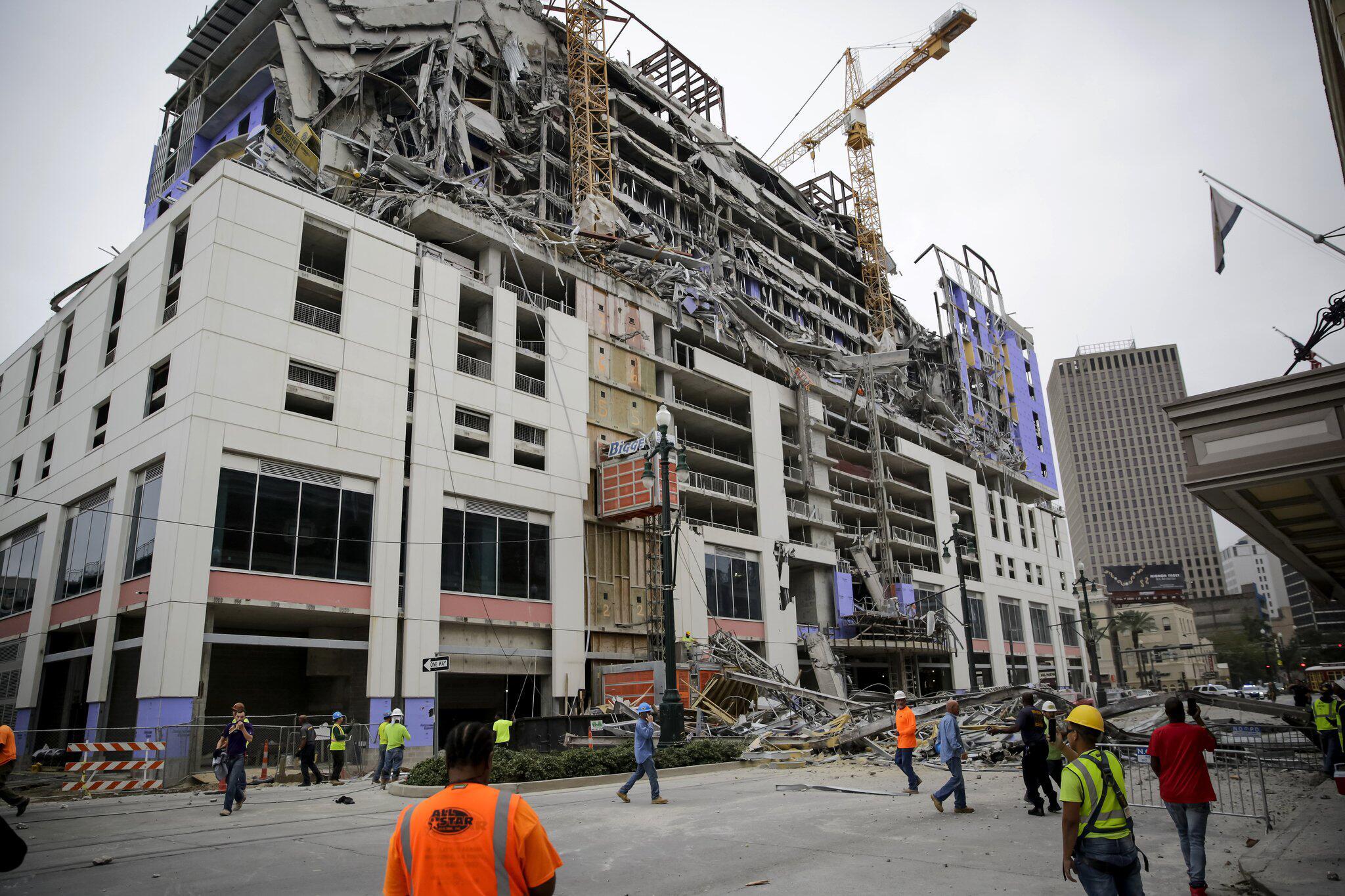 Bild zu Geplantes Hard-Rock-Hotel inNew Orleans eingestürzt