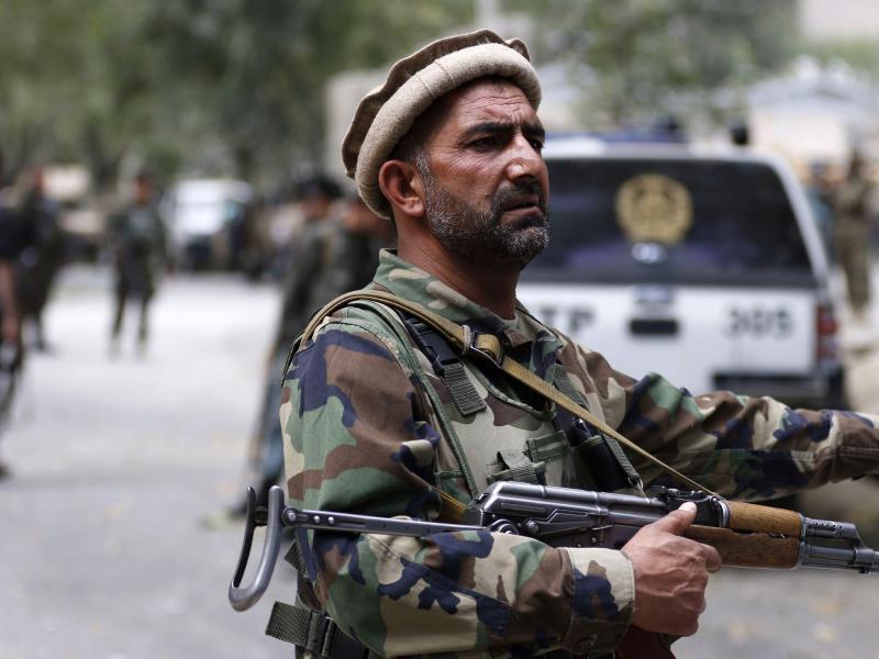 Bild zu Afghanischer Polizist
