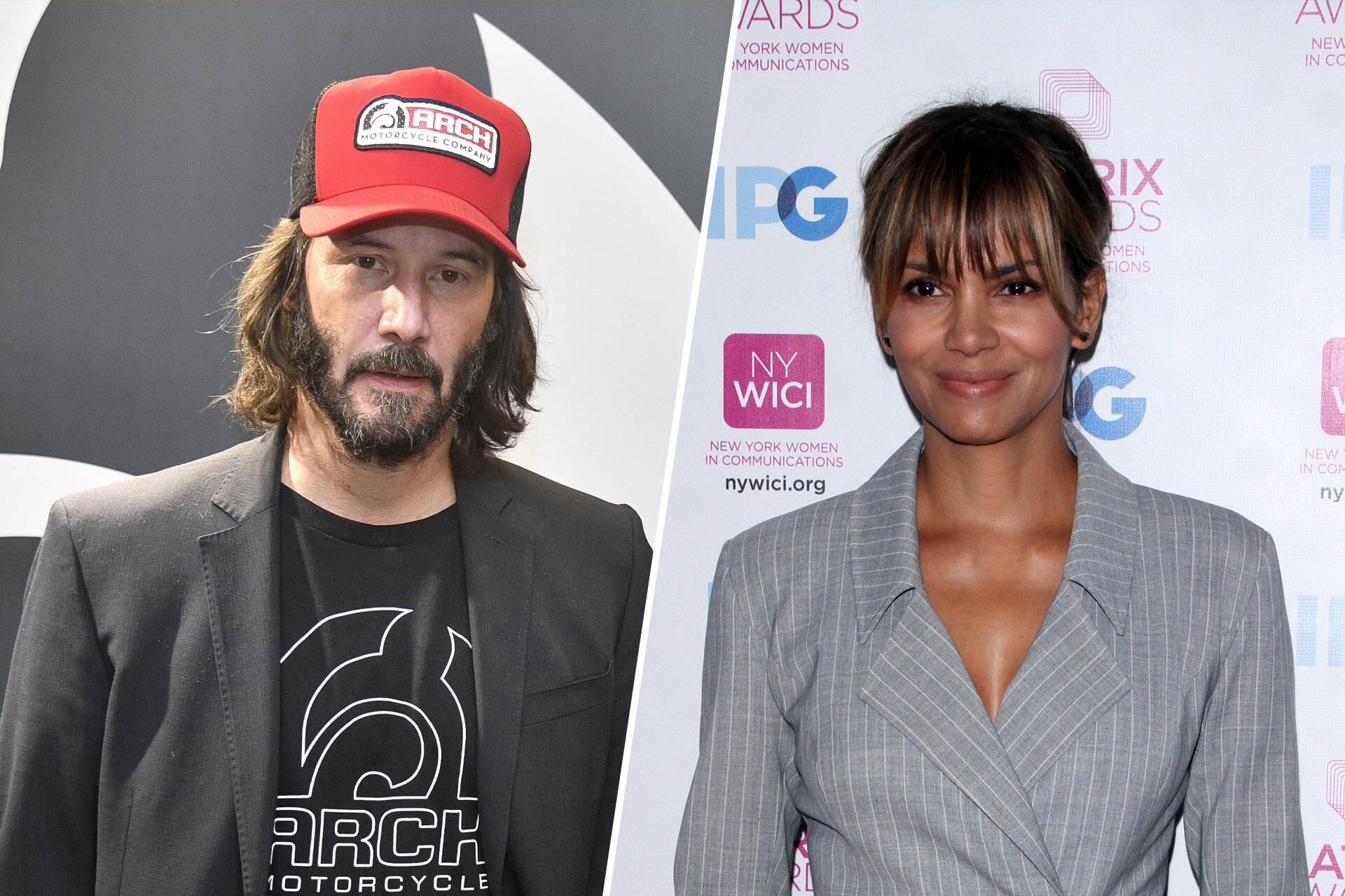 Bild zu Keanu Reeves und Halle Berry: das neue Hollywood-Traumpaar?