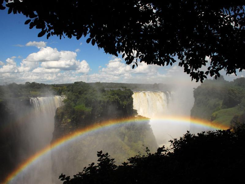 Bild zu Die Victoria Falls