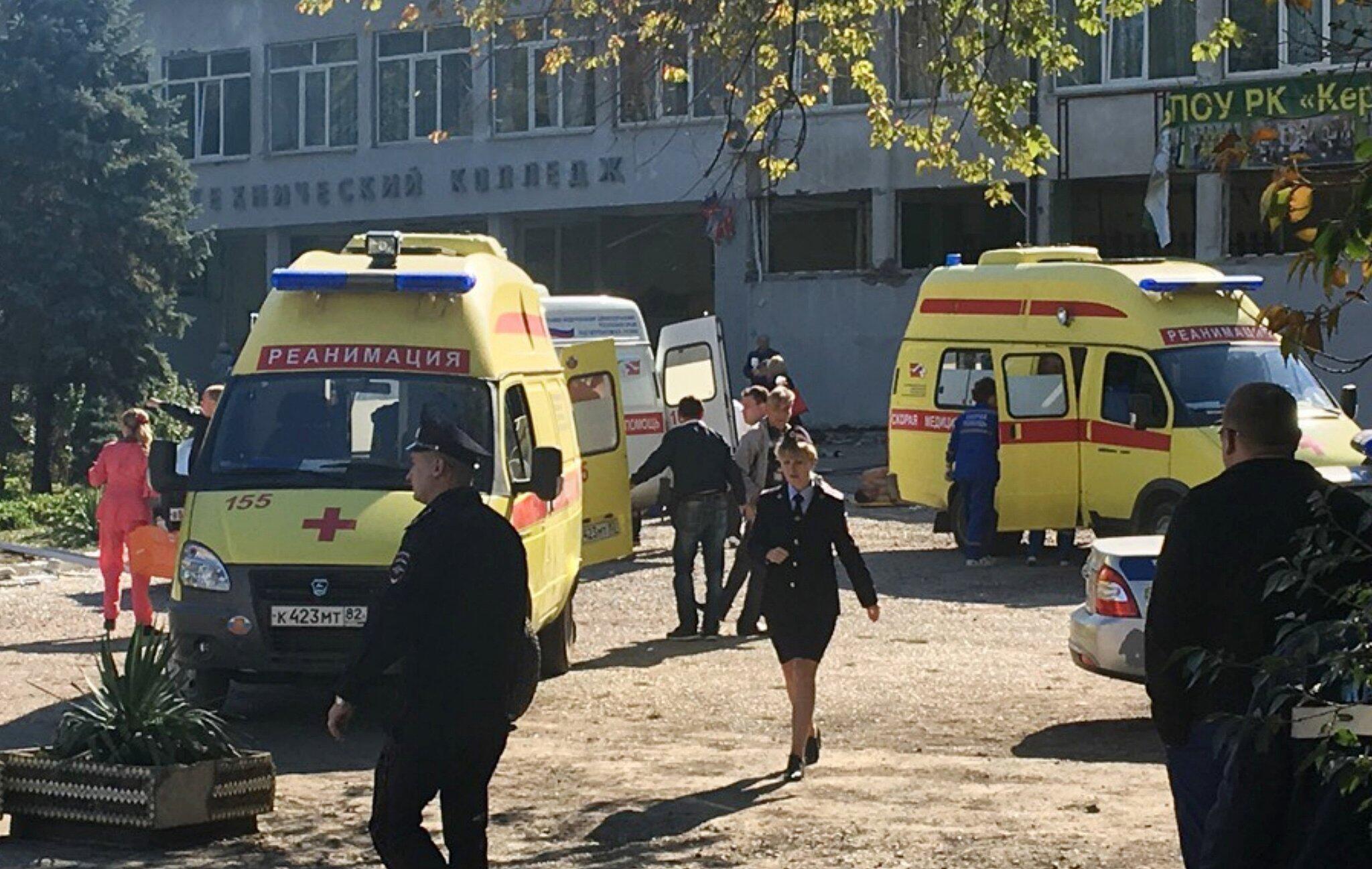 Bild zu Explosion auf der Krim