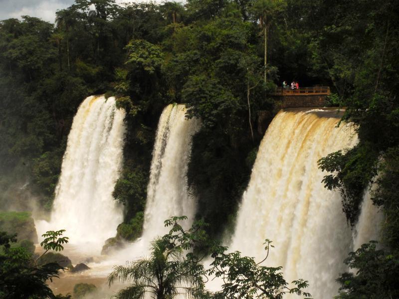 Bild zu Die Iguazú-Fälle