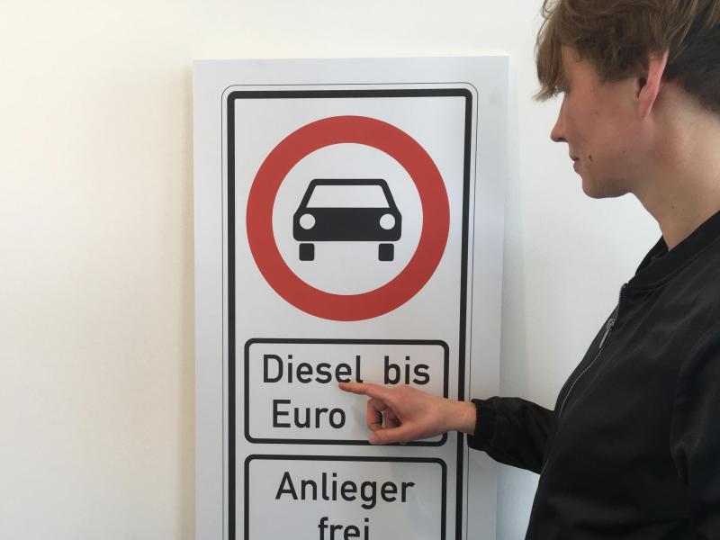 Bild zu Diesel-Fahrverbot