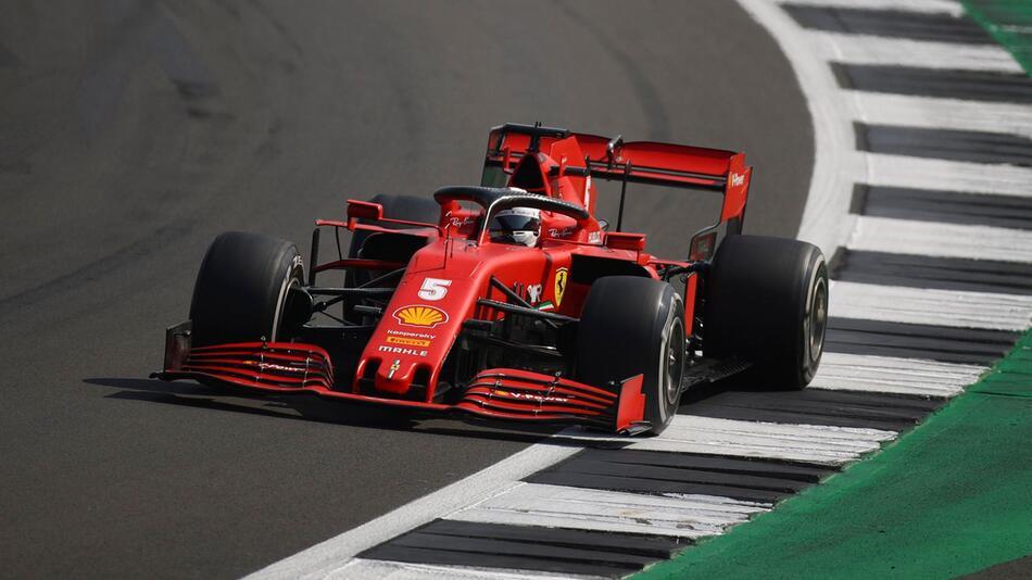 Sebastian Vettel, Ferrari, Auto, Rennwagen