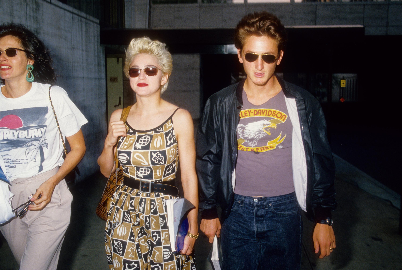 Bild zu Sean Penn, Madonna