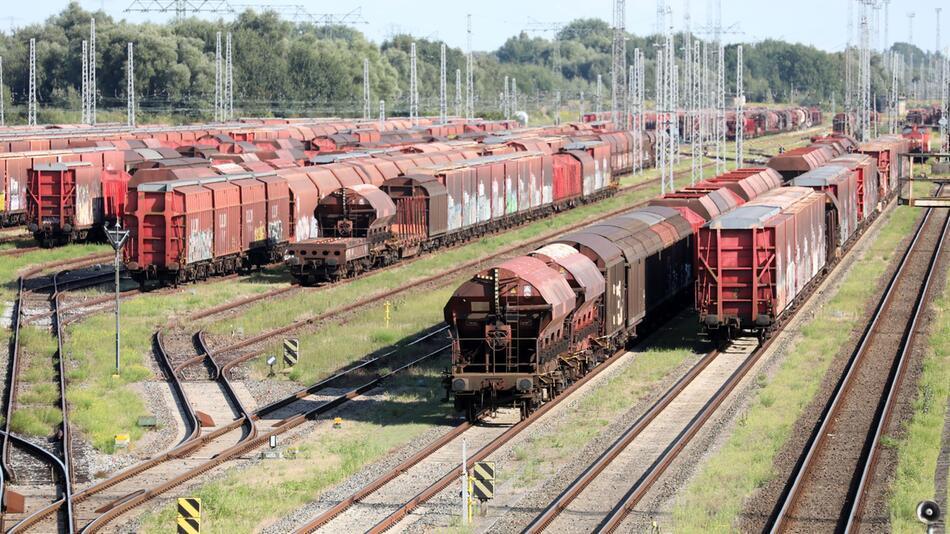Lokführer-Streik im Güterverkehr beginnt