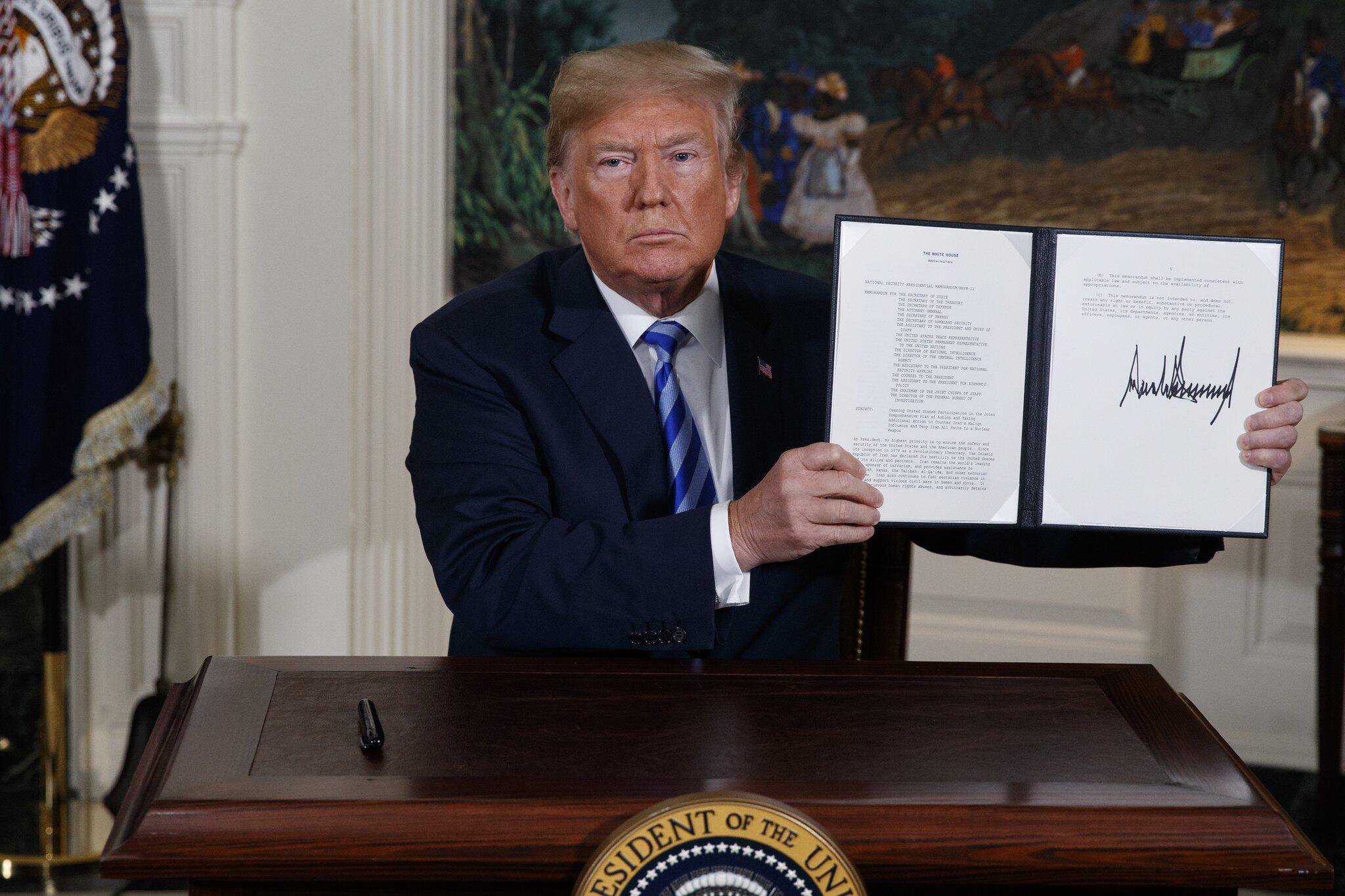 Bild zu USA steigen aus Atomabkommen mit dem Iran aus
