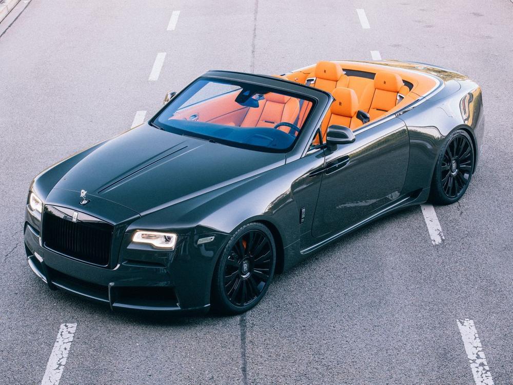 Bild zu Spofec Overdose: Extremes Breitbau-Kit für den Rolls-Royce Dawn
