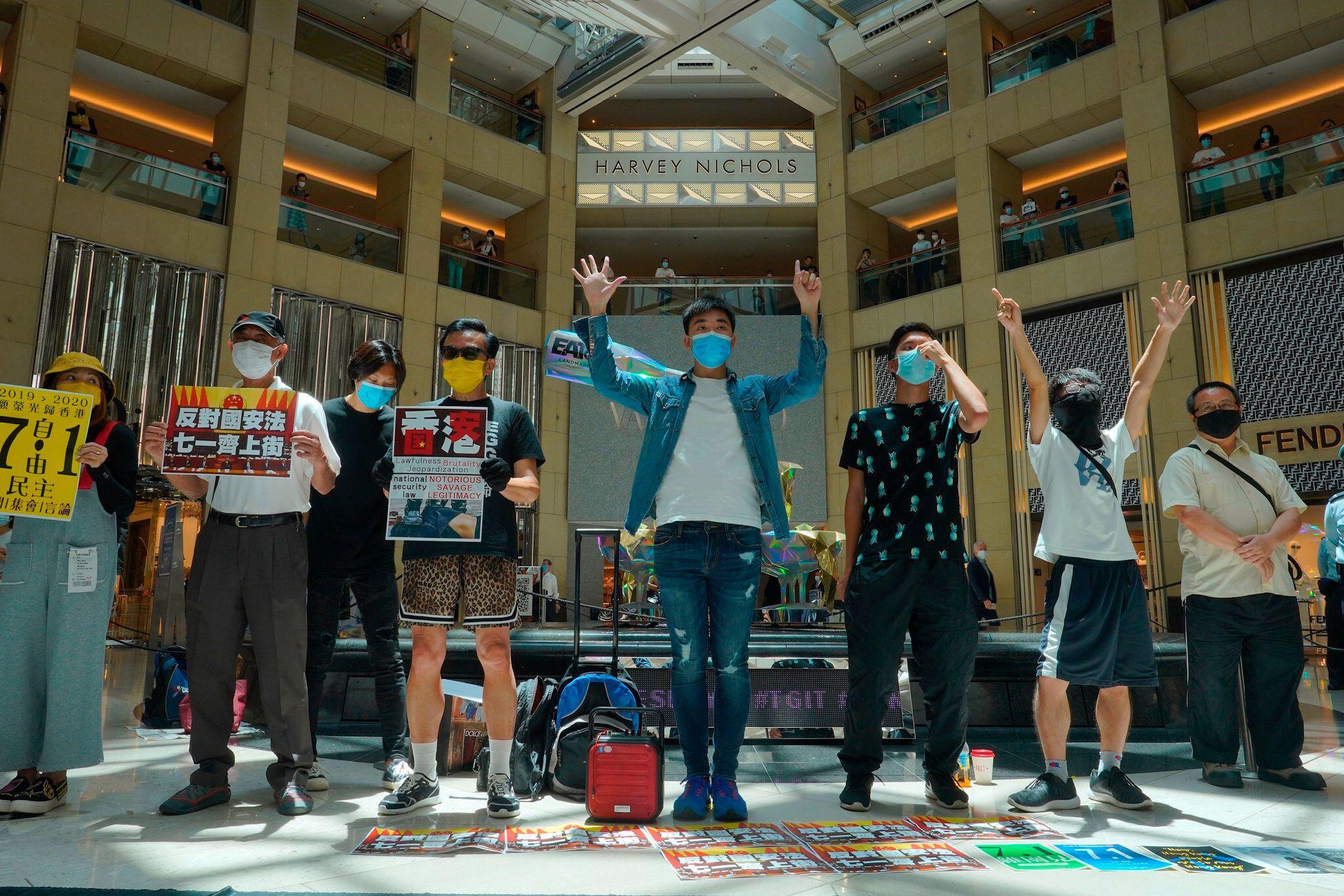 Bild zu Proteste in Hongkong