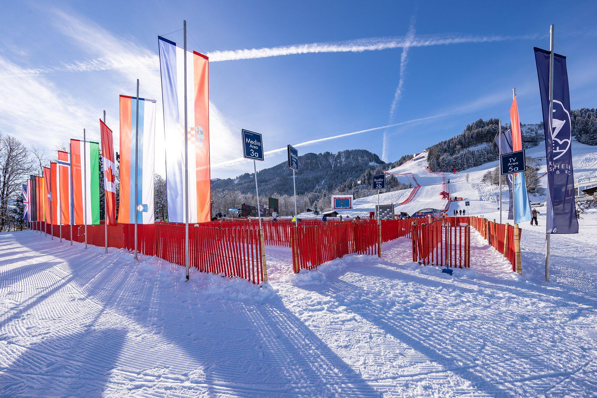 Bild zu Vor dem Ski-Weltcup in Kitzbühel