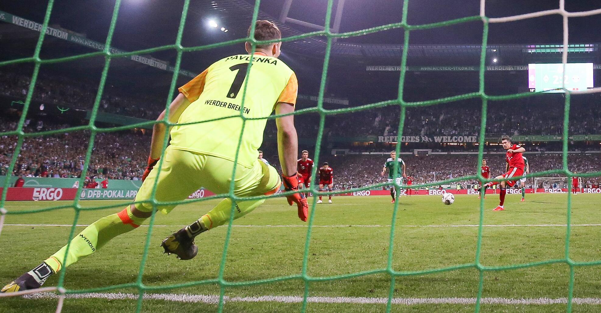 Bild zu Werder Bremen - FC Bayern Munich