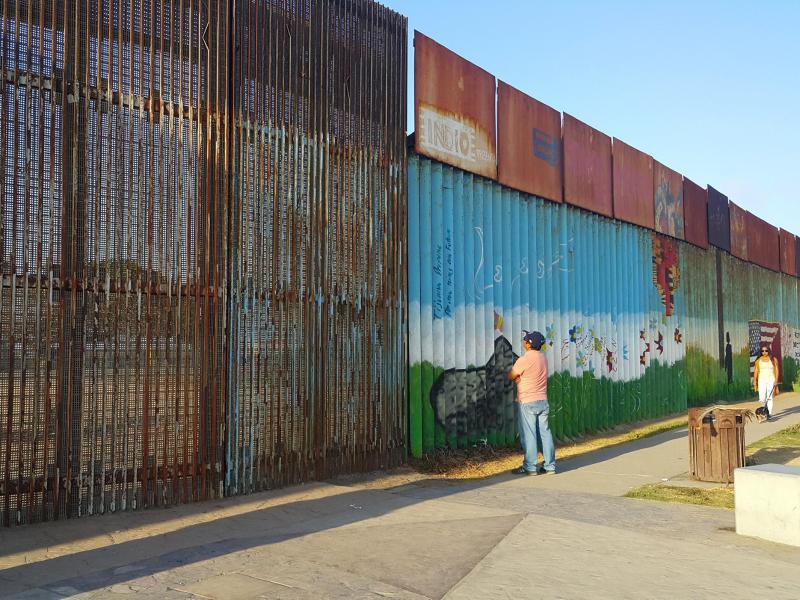 Bild zu Grenze zwischen USA und Mexiko