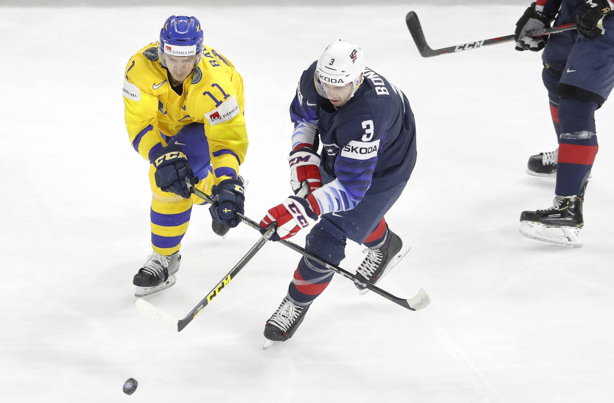 Bild zu WM, Eishockey, Schweden, Endspiel, USA