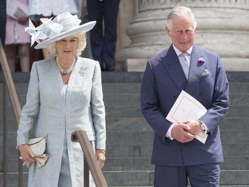 Bild zu Charles und Camilla