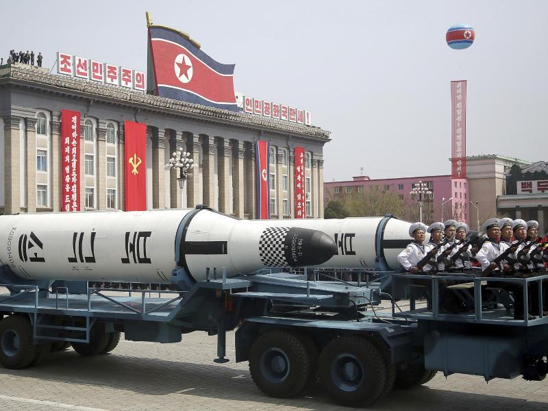 Bild zu Nordkoreanische Rakete