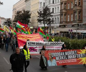 Demonstrationen gegen Erdogan