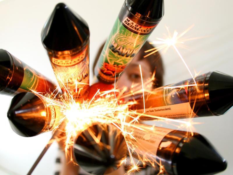 Bild zu Feinstaub durch Feuerwerk