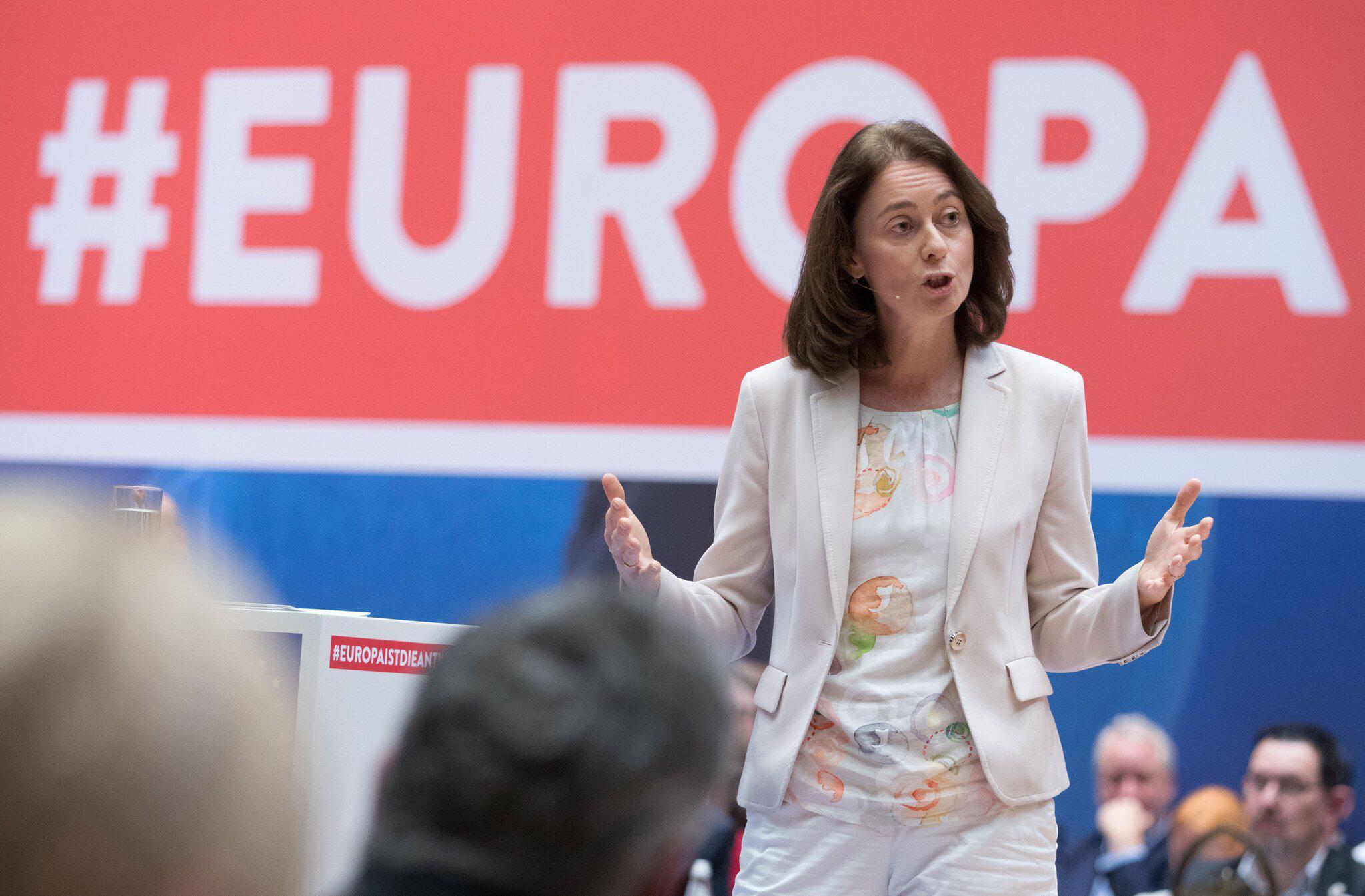 Bild zu SPD-Delegiertenkonferenz zur Europa-Wahl
