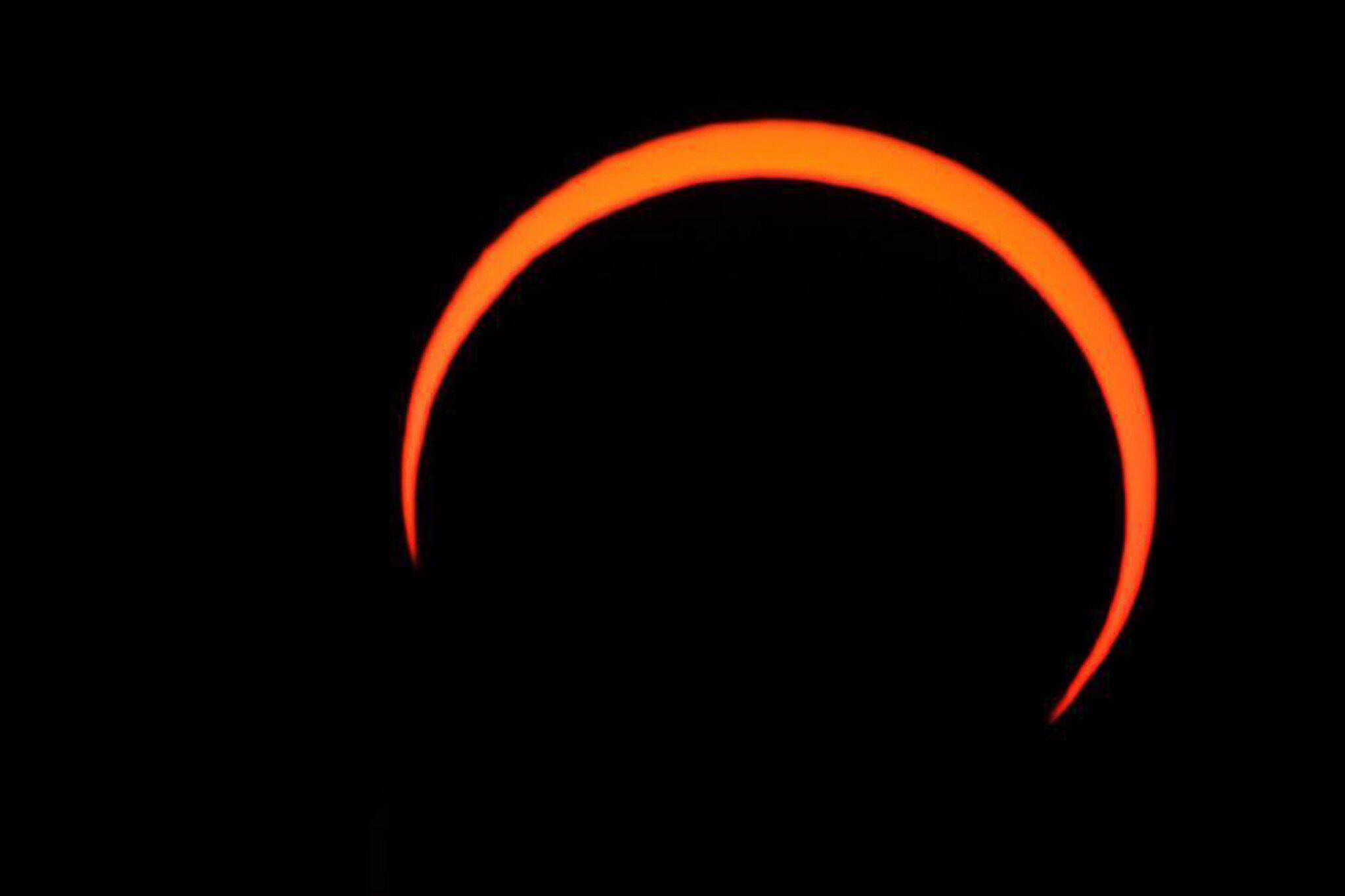 Bild zu Sonnenfinsternis in Saudi-Arabien