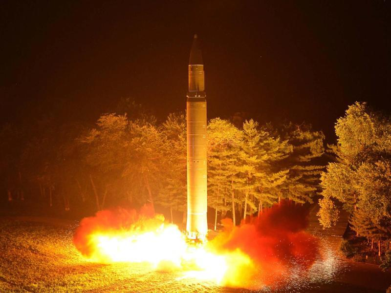 Bild zu Raketentest