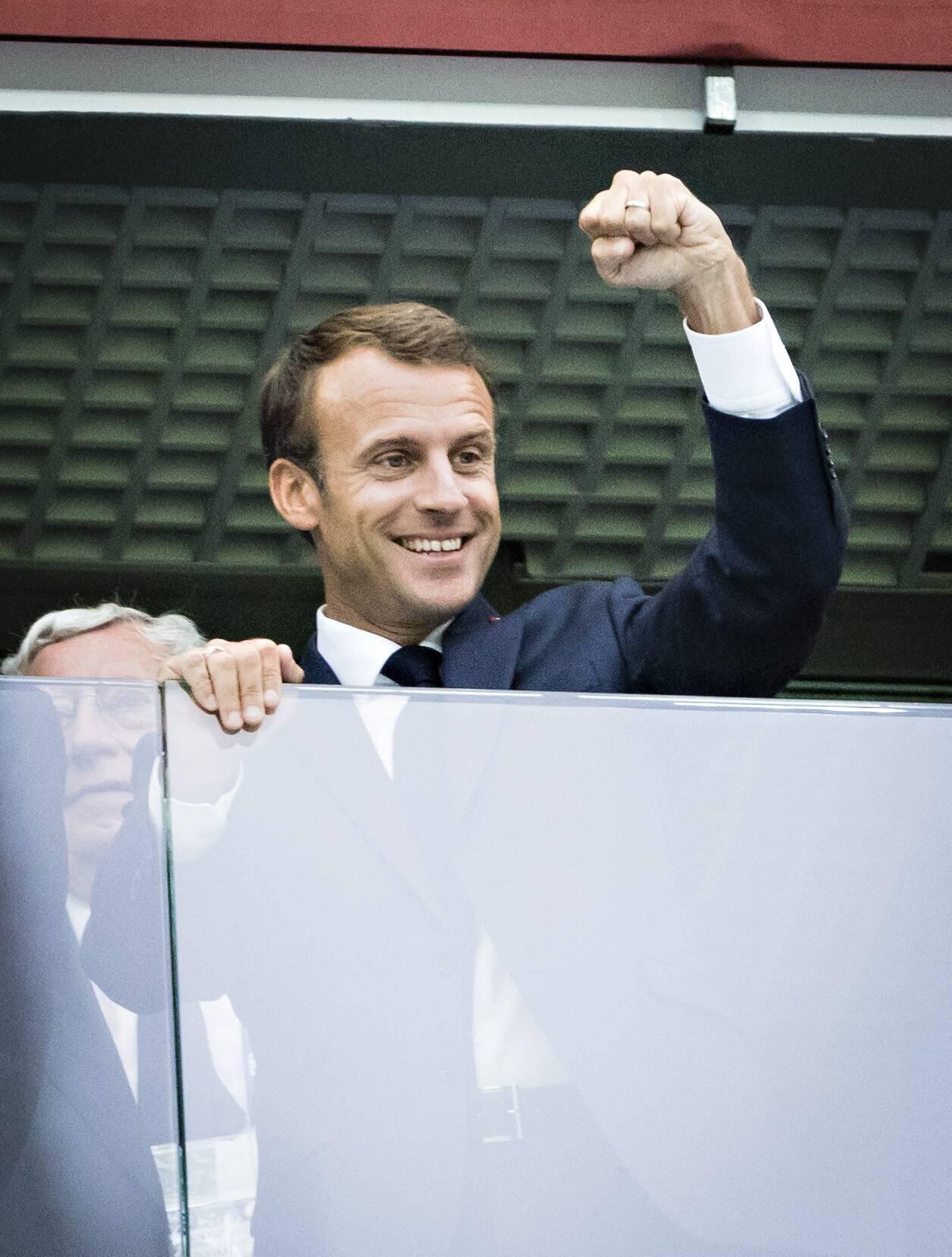 Bild zu Emmanuel Macron, Frankreich, WM