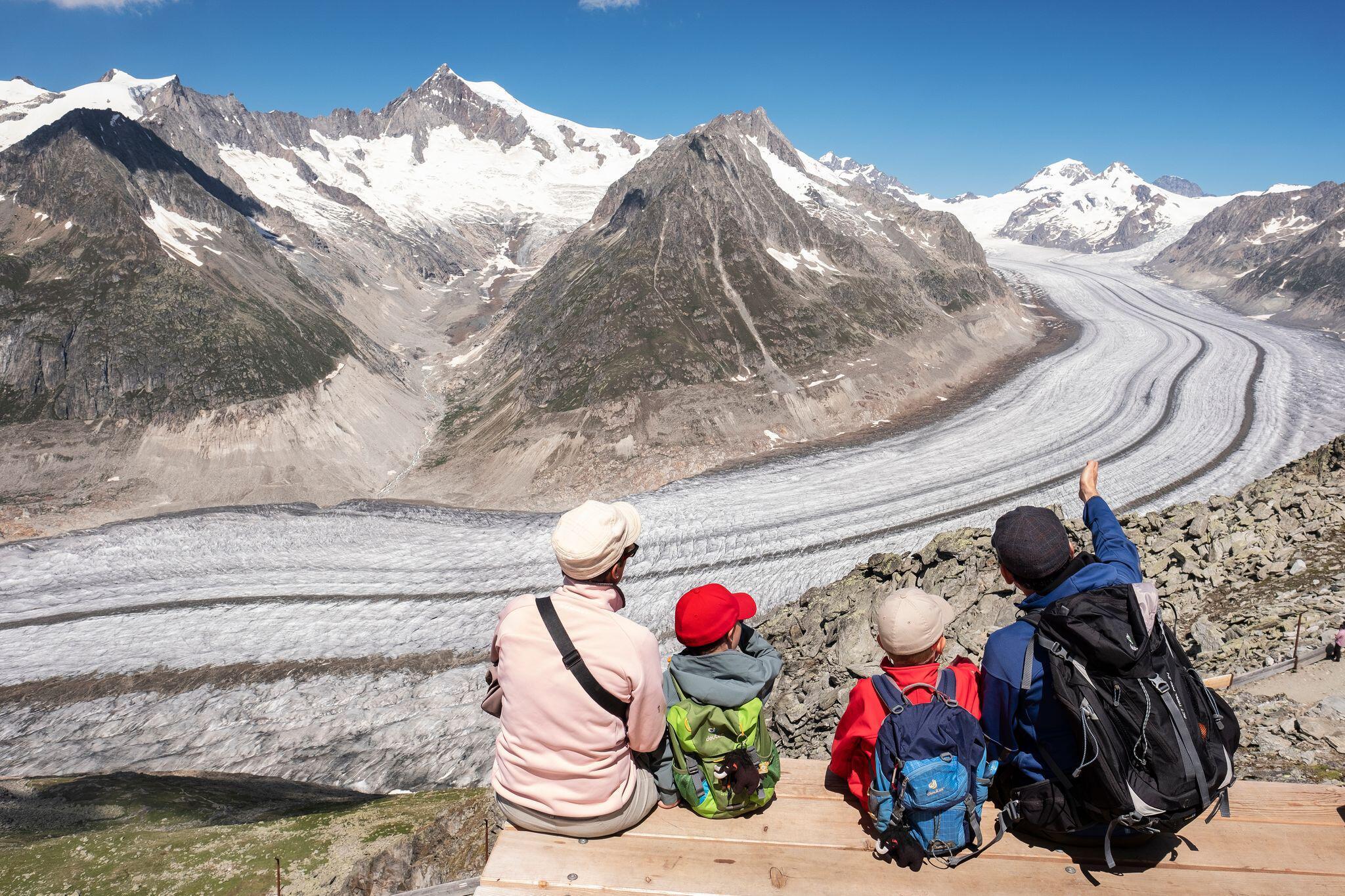 Bild zu Aletschgletscher