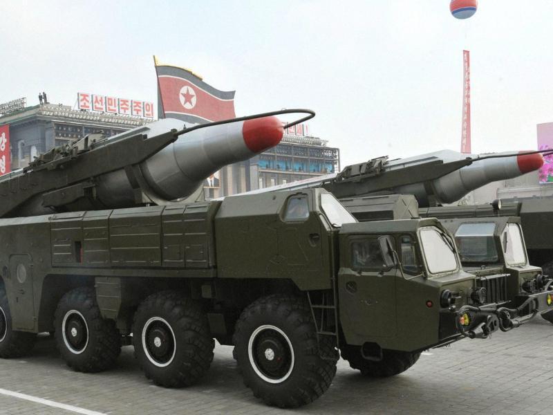 Bild zu Musudan-Rakete