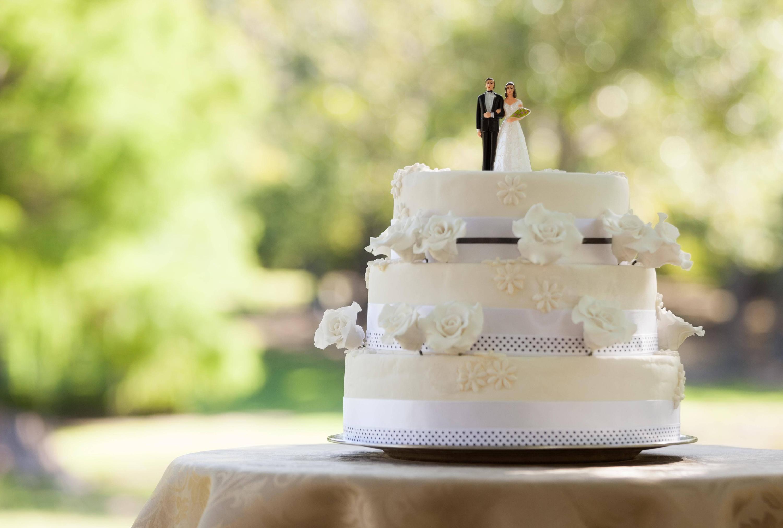 Bild zu Hochzeitstorte
