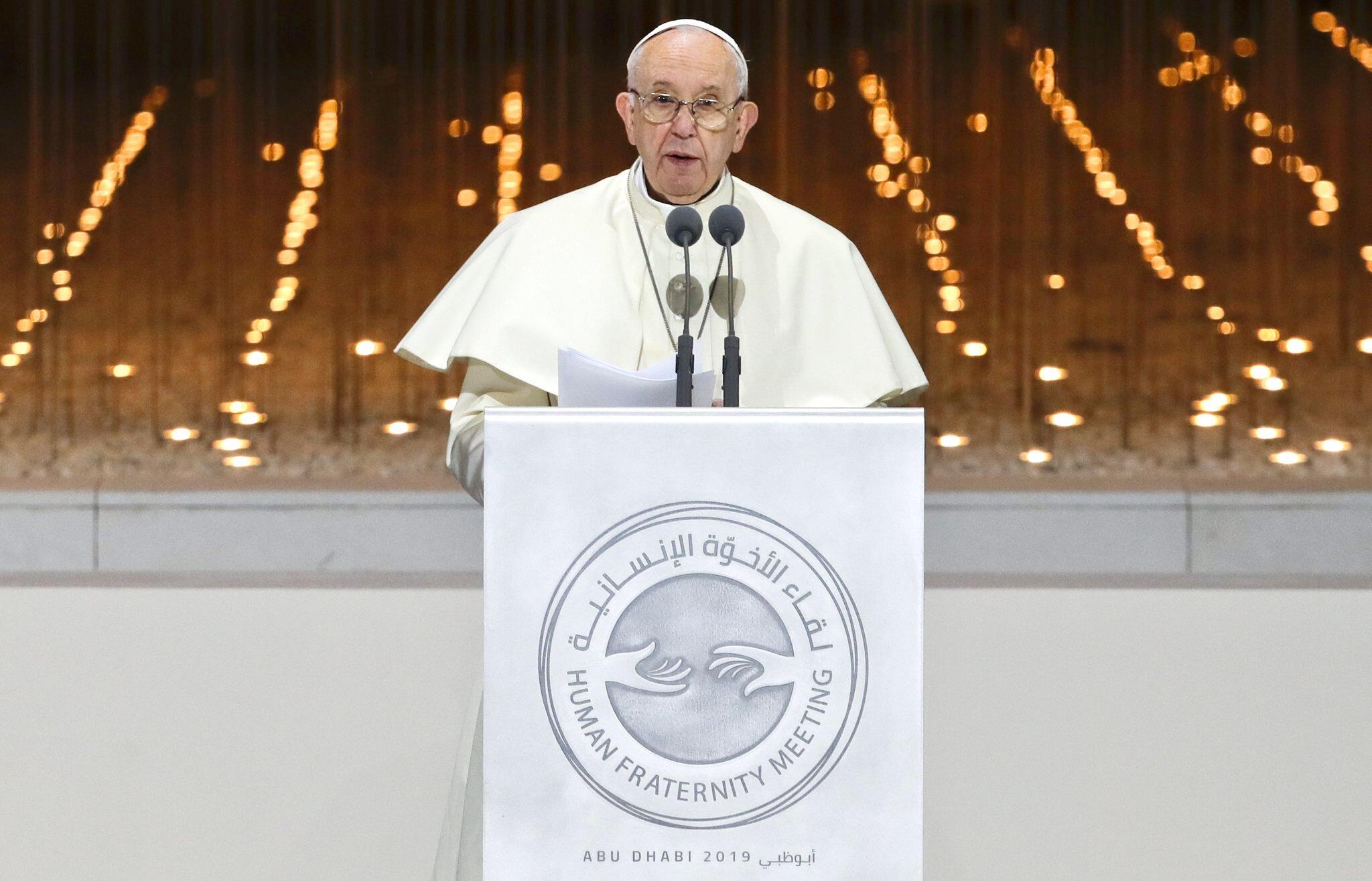 Bild zu Papst besucht die Vereinigten Arabischen Emirate