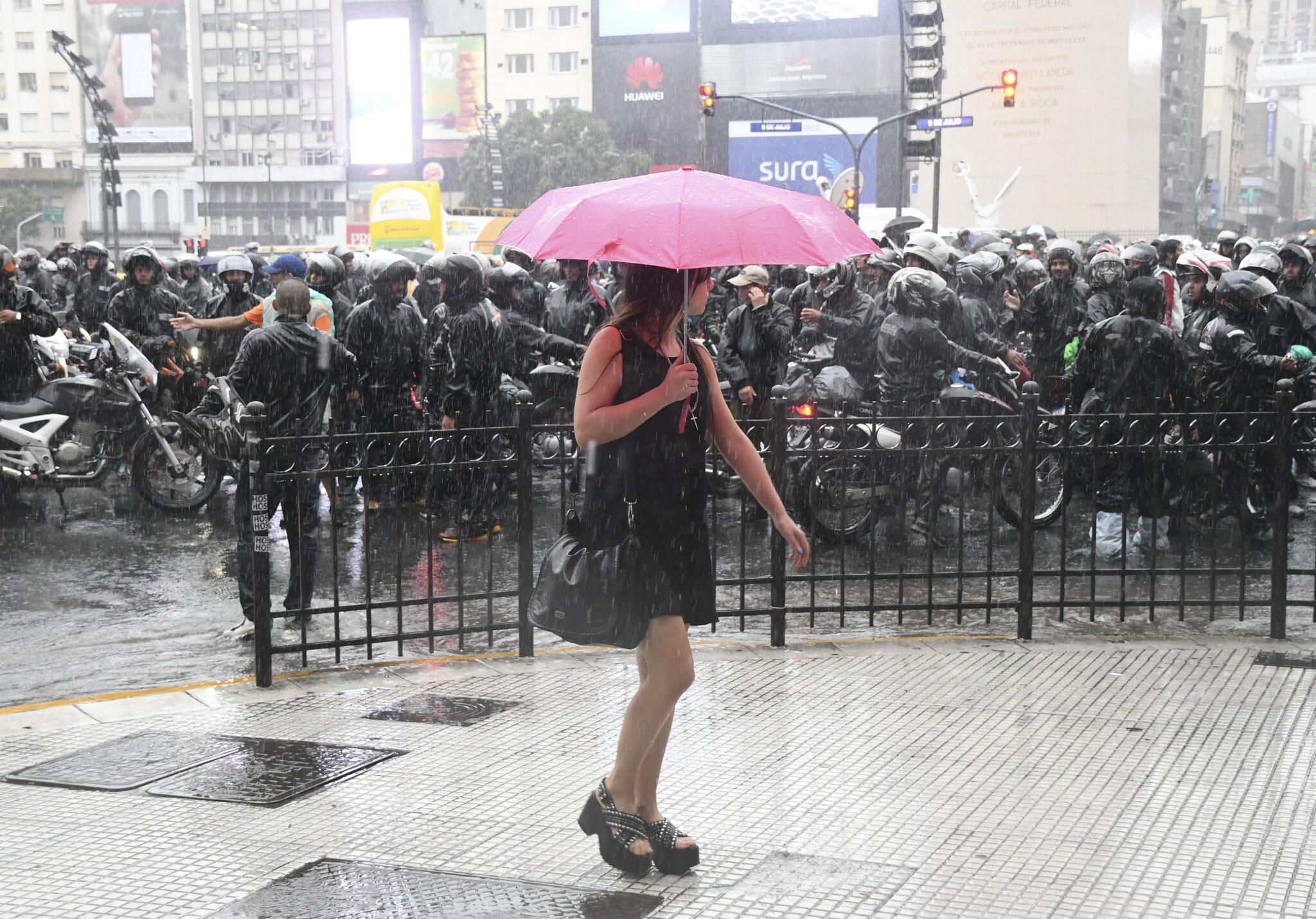 Bild zu Regen in Buenos Aires
