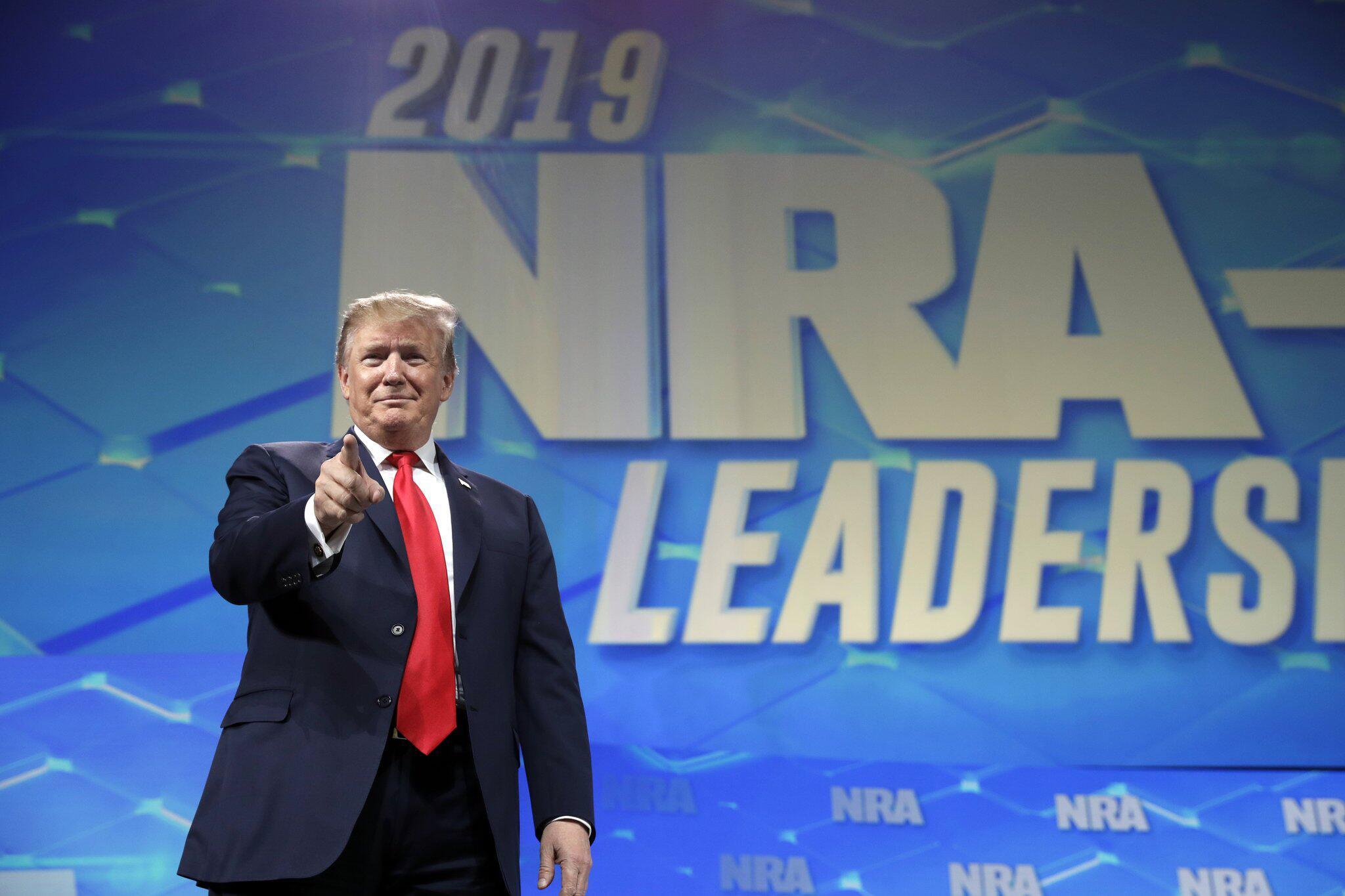 Bild zu Jahrestagung der National Rifle Association