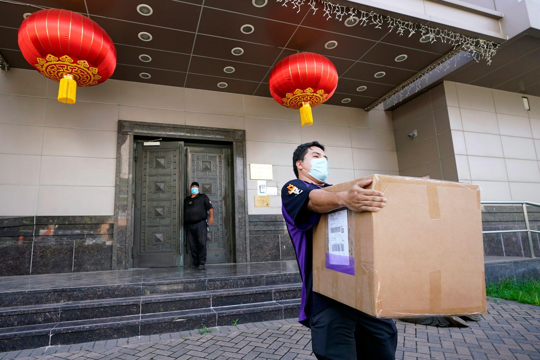 Bild zu Schließung des chinesischen Konsulats in Houston verfügt