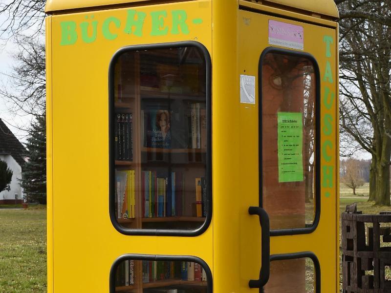 Bild zu Bücher in der Telefonzelle