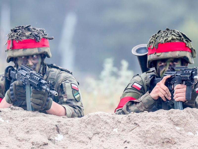 Bild zu Polnische Nato-Soldaten