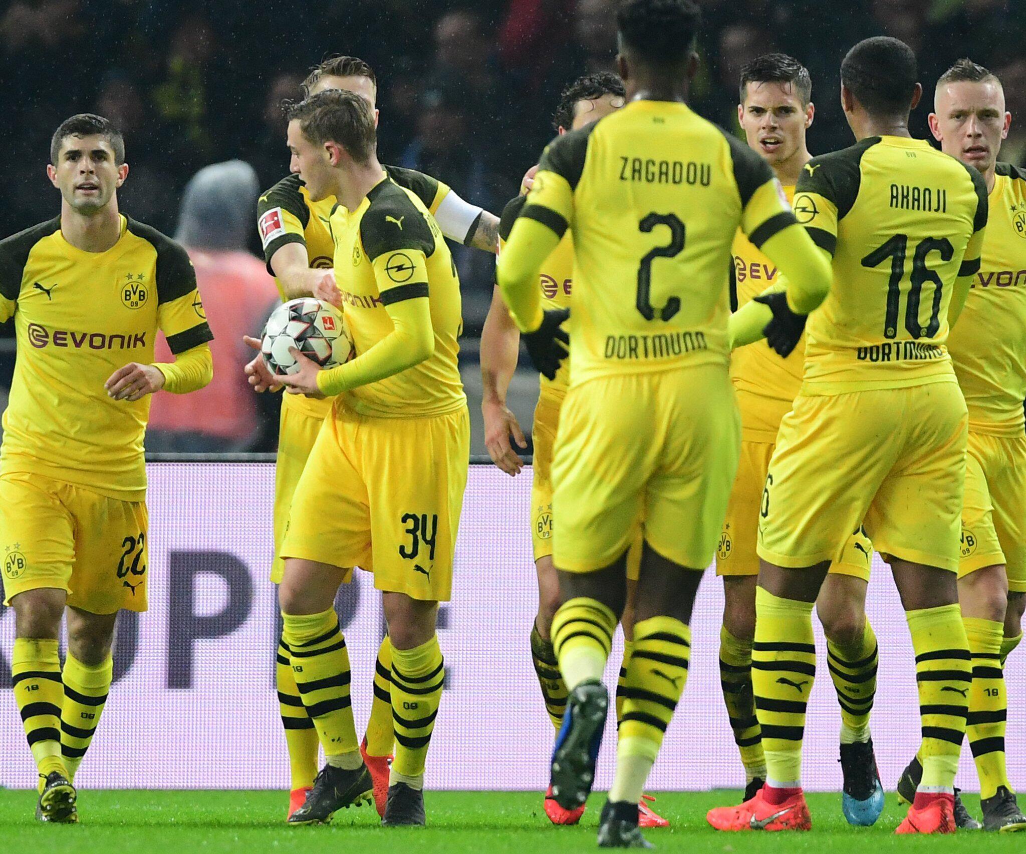 Bild zu Hertha BSC - Borussia Dortmund