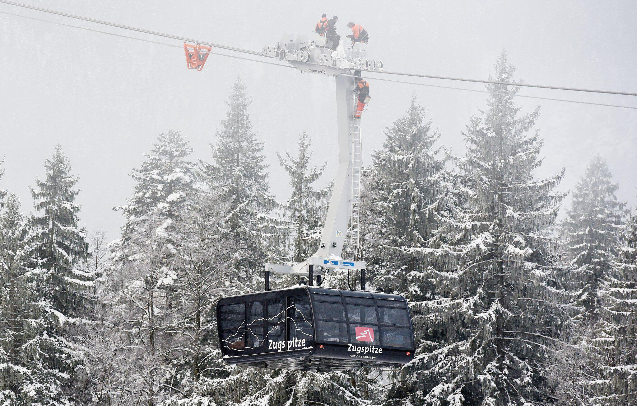 Bild zu Neue Seilbahn auf die Zugspitze