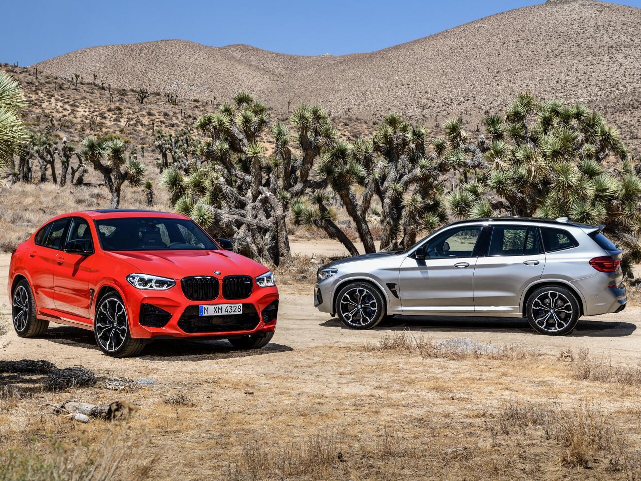 Bild zu Kraftvolles Doppelpack: Der neue BMW X3 M und der neue BMW X4 M
