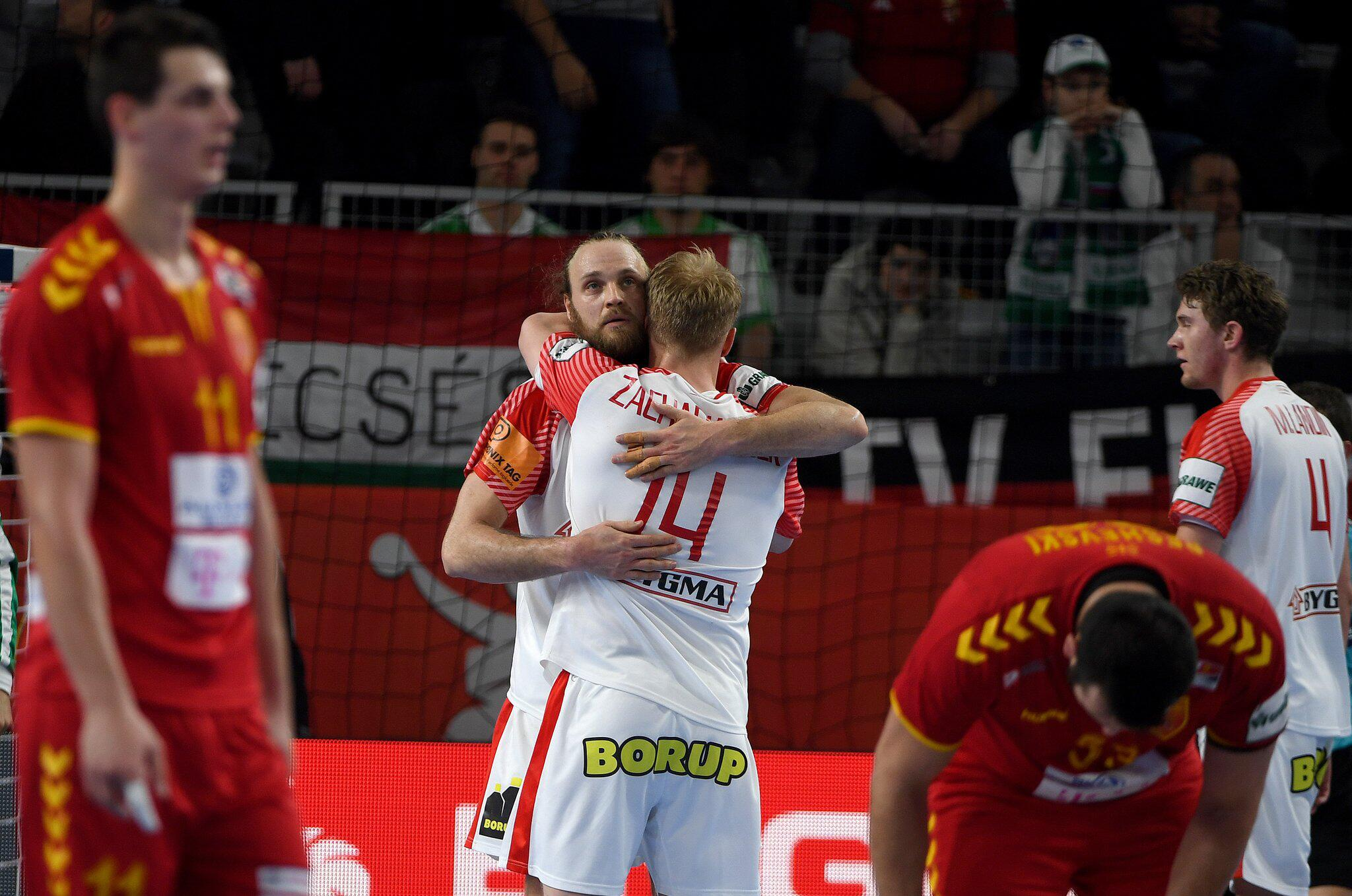 Bild zu Handball-EM: Mazedonien - Dänemark