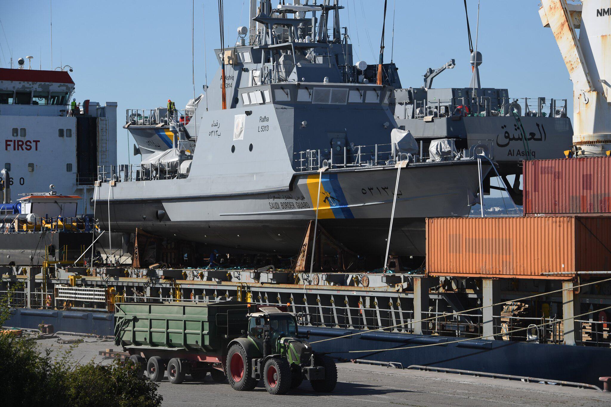 Bild zu Patrouillenboote für Saudi-Arabien