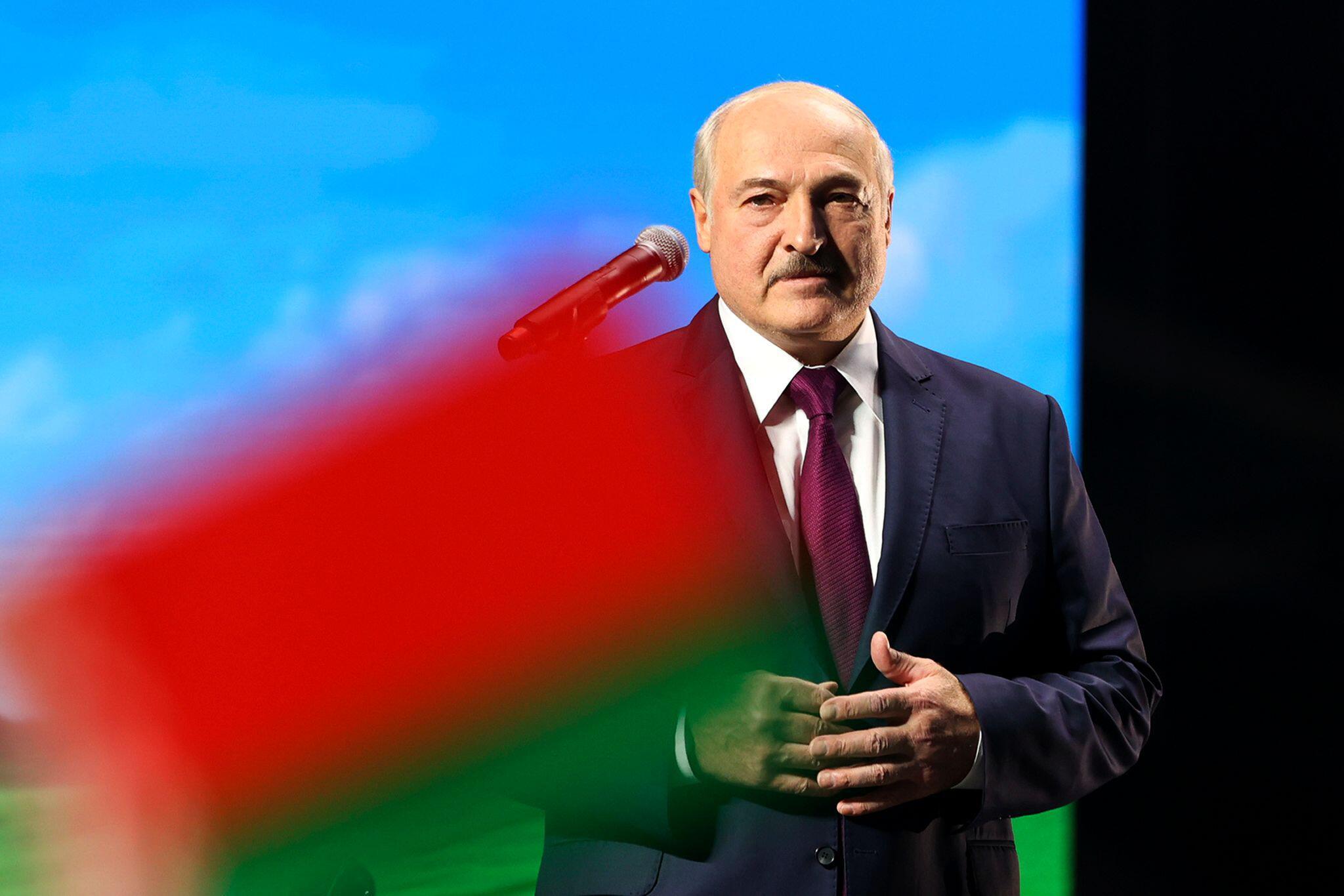 Bild zu Alexander Lukaschenko
