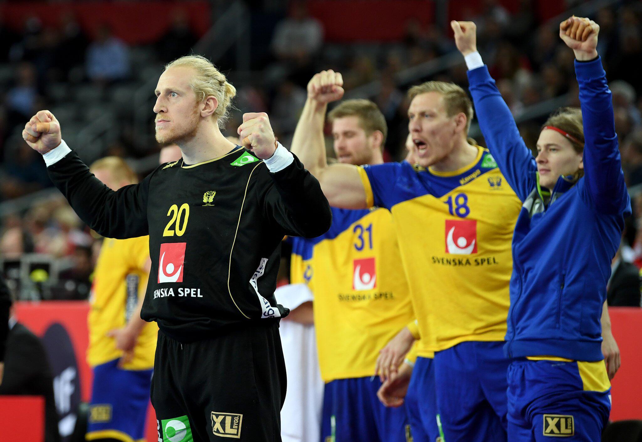 Bild zu Handball-EM: Dänemark - Schweden