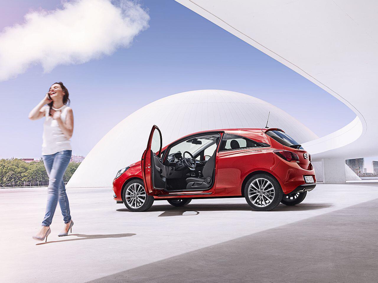 Bild zu 2. Platz: Opel Corsa