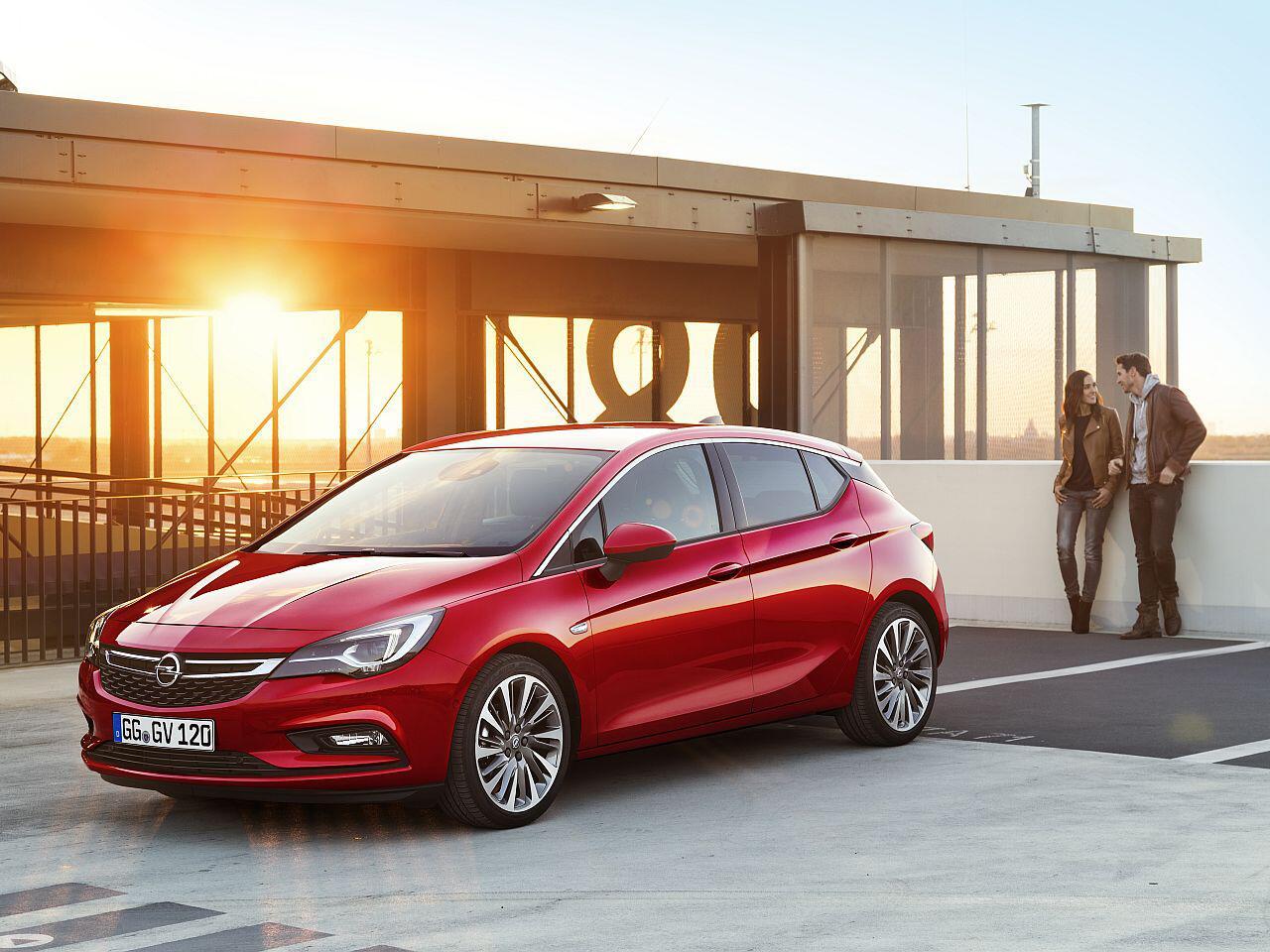 Bild zu 4. Platz: Opel Astra