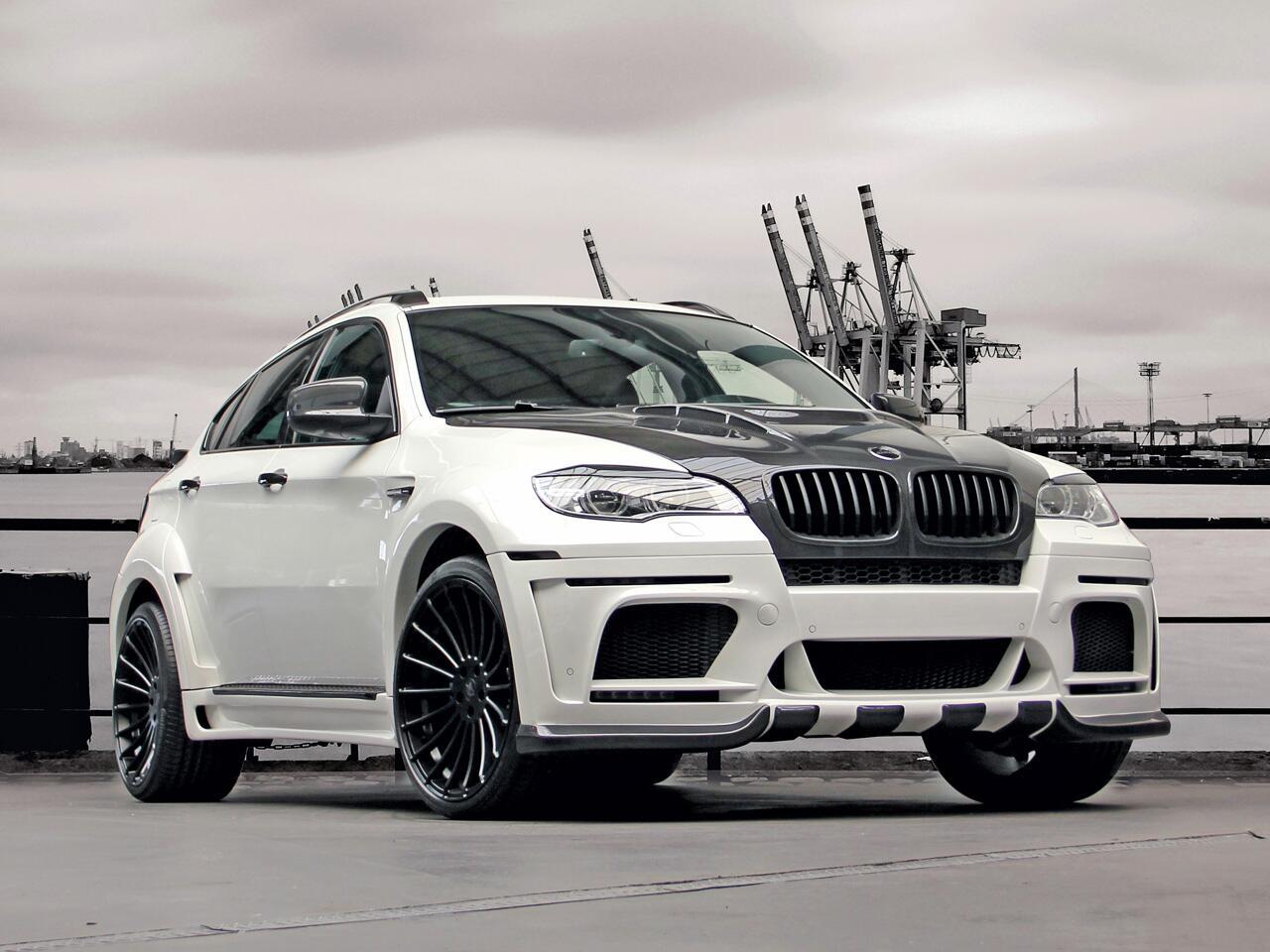 Bild zu Edles Optik-Tuning für Schwergewicht: BMW X6 M geht in die Breite