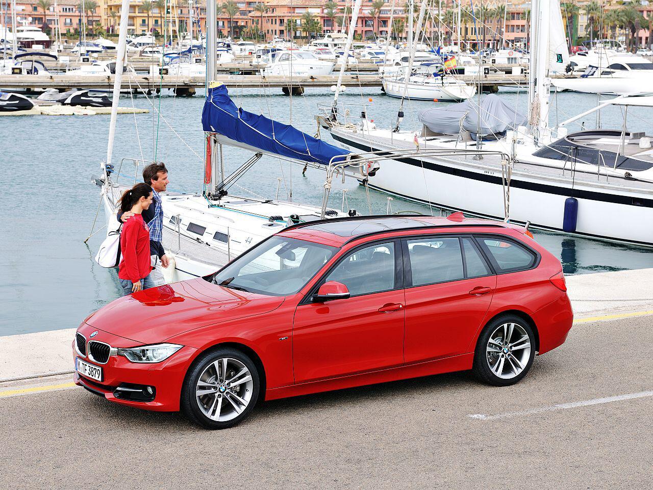 Bild zu 5. Platz: BMW 3er