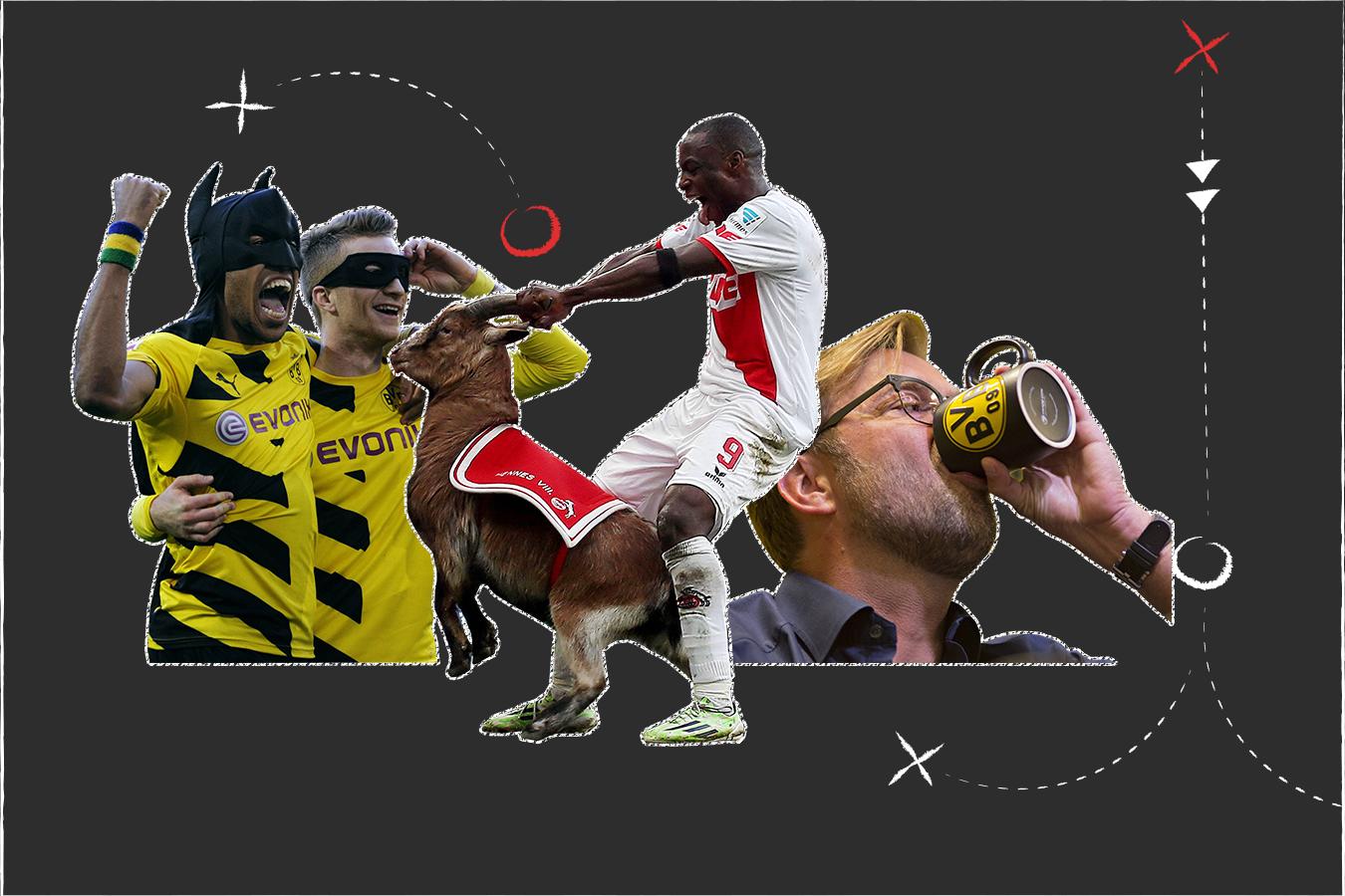 Bild zu Elf der Bundesliga-Saison 2014/15